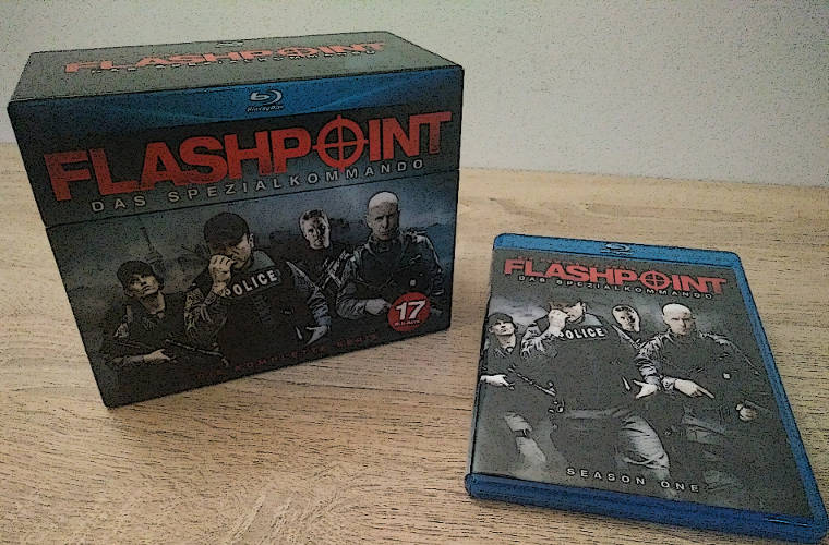 Flashpoint-Komplettbox auf Blu-ray von Amazon