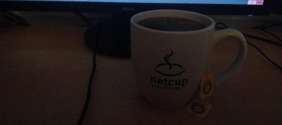 Netcup-Tasse aus Adventskalender