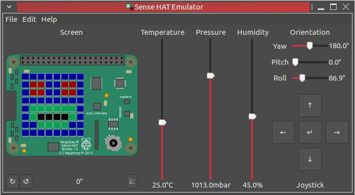 Sense HAT Emulator unter Ubuntu